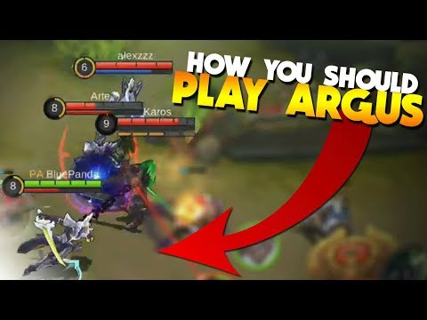 Argus Is Still A Beast! (Gameplay Build Strategy) Mobile Legends New Hero
