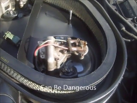 Air Intake Sensor >> 1984 Corvette Crossfire A Heated Air Intake System - YouTube