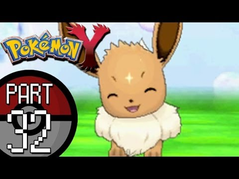 Pokemon X And Y - Part 32: Reflection Cave | Eevee Joins The Team And Pancham Evolves!