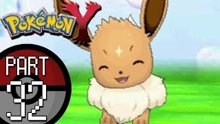 Pokemon X and Y - Part 32: Reflection Cave | Eevee Joins The Team and ...