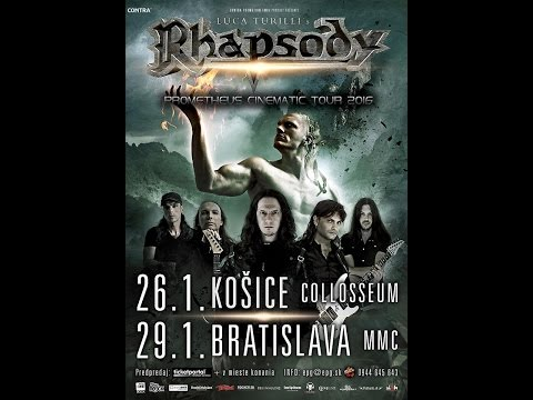 LUCA TURILLI'S RHAPSODY :  Son of Pain - /live koncert/