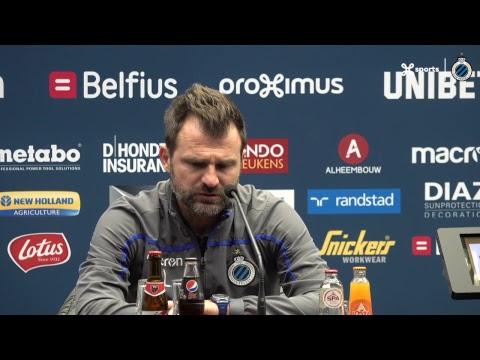 DE PERSCONFERENTIE NA CLUB BRUGGE - MOESKROEN | 2018-2019