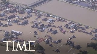 Japan Looks For Missing People After Typhoon Hagibis Leaves Several Dead | TIME