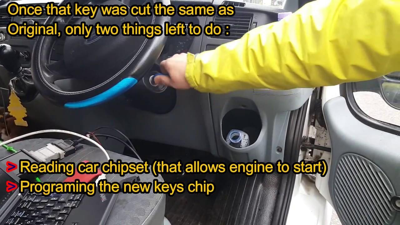 Ford Transit Lost key