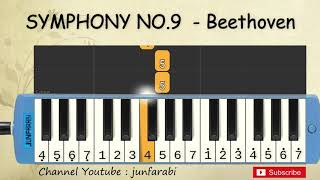 not pianika symphony no.9 - ode to joy , beethoven