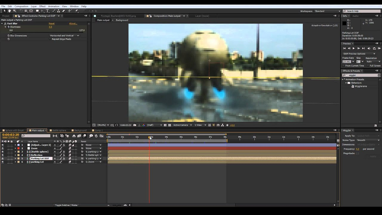 After effects cs6 3d compositing tutorial youtube for Habitacion 3d after effects