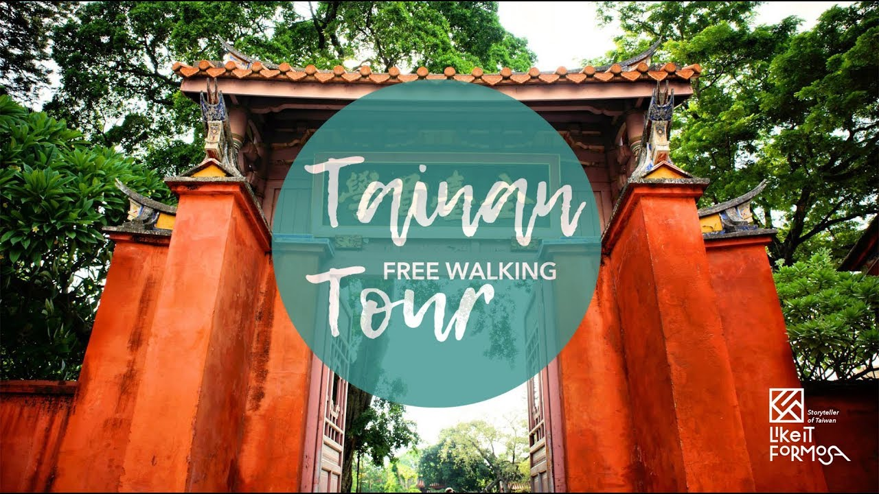 Tainan Free Walking Tour丨Travel in Taiwan丨Like It Formosa, the No.1 Walking Tour