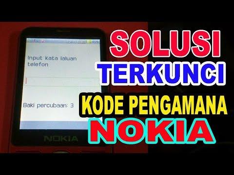 Cara Mengatasi Lupa kode Nokia 105/Nokia 107/Nokia 108 & Semua Tipe Nokia.