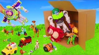 Історія іграшок 4 сюрприз іграшок: Базз Лайтер, бойові вилки і деревні іграшки автомобілів для дітей
