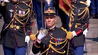 2018 Hell March - Parade of the French Armed Forces during the Bastille Day - Macron and Trump