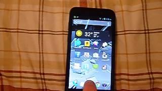 """""""Recap"""" ZTE Warp 4G (Boost Mobile)"""