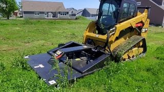 Cat® Brushcutter Attachment Overview