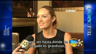 Candice Swanepoel en Monterrey - MULTIMEDIOS / TRAS LOS FAMOSOS