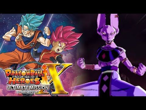 FURY MODE BEERUS FROM SUPER DRAGON BALL HEROES!!! | Dragon Ball Heroes Ultimate Mission X Gameplay!