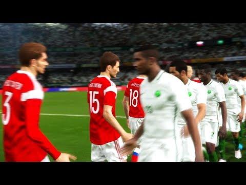 Russia vs Saudi Arabia  Group A  FIFA World Cup Russia 14 June 2018 Gameplay