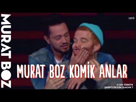 Murat Boz Komik Anlar - O Ses Türkiye (2016-2017)