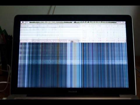 Macbook Pro Unibody Aluminum Screen Failure Fix And Lcd