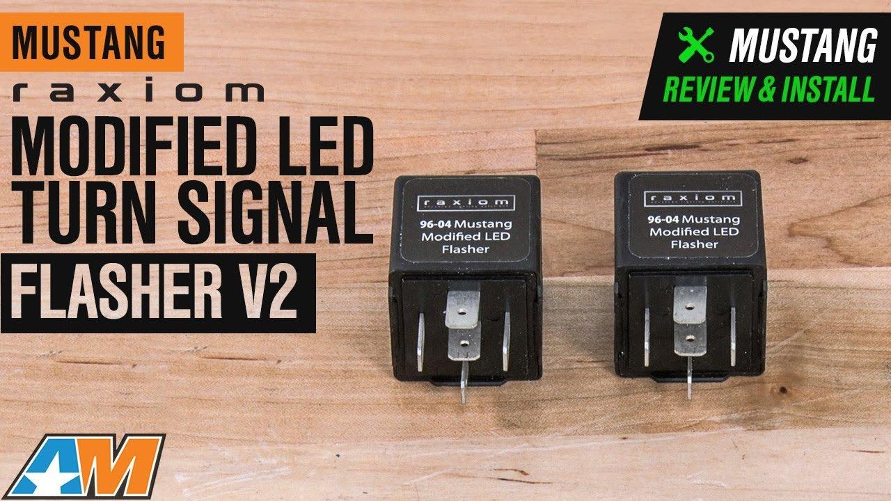 Turn Signal Relay >> Raxiom Modified Turn Signal Flasher V2 Led 96 04 All Excluding 99 01 Cobra