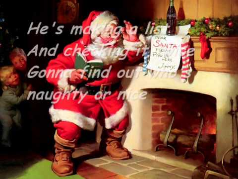Diana Krall Santa Claus Is Coming To Town Lyrics