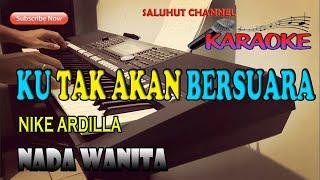 Download lagu KU TAK AKAN BERSUARA [SUARA HATIKU] KARAOKE LIRIK ll HD