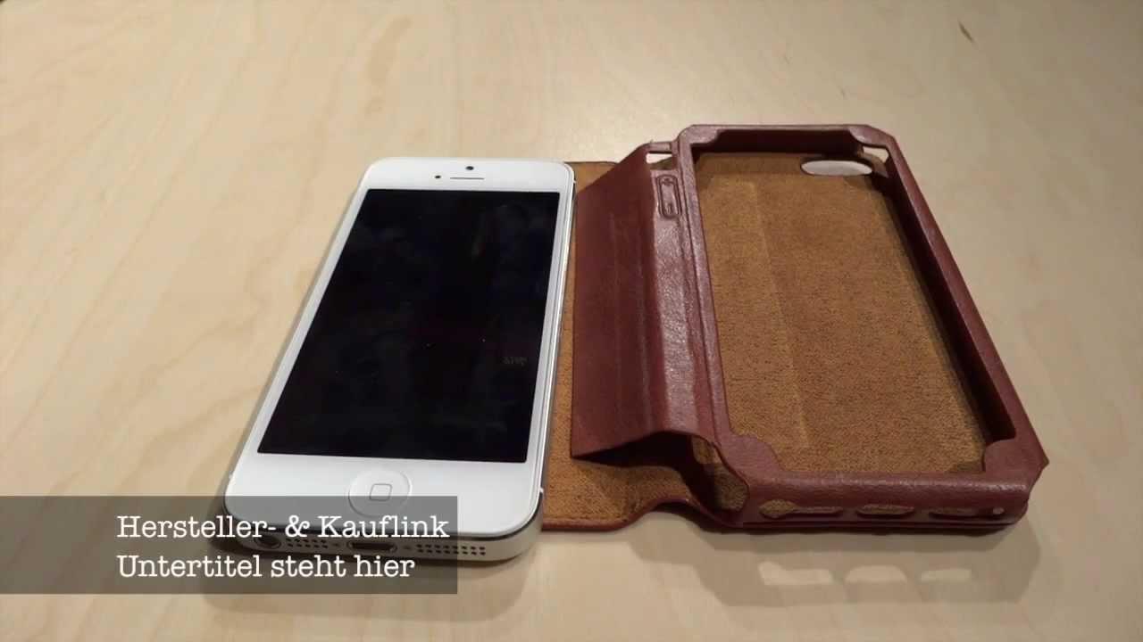 big sale df0a7 b4d60 Review: KAVAJ Dallas Ledertasche Case for iPhone 5 Review [Deutsch] [HD]