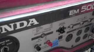 Honda Generator Surging Problem