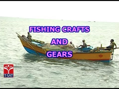 T-SAT || Zoology - Fishing Crafts & Gears || Presented By Dr BRAOU