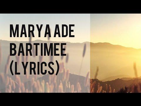 Marya Ade - Bartimee (Lyrics)