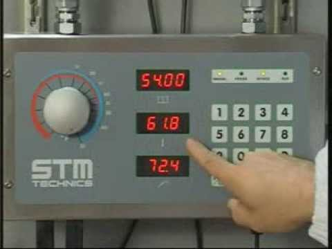 STM DOMIX 45 and 45A WATER METER-MIXER - Operation and Service video