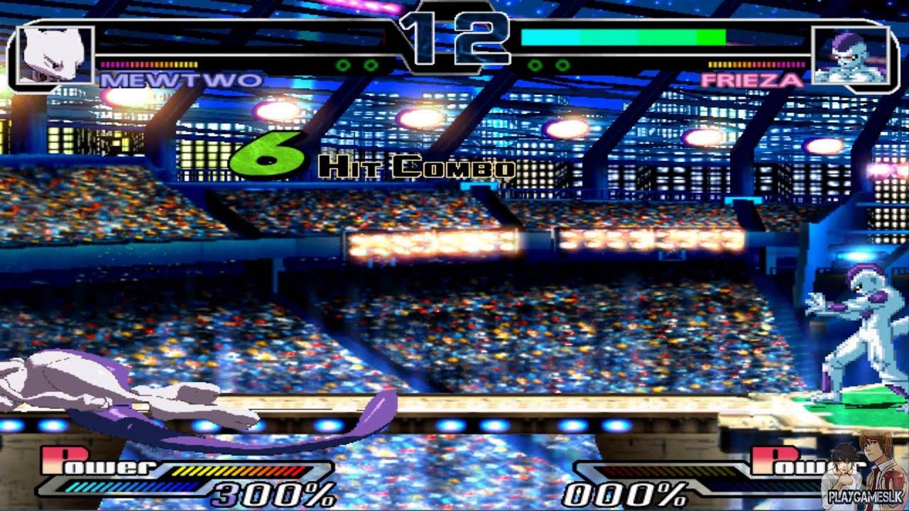Mugen Battles   Mewtwo vs Frieza Final Form   Pokemon vs Dragon ...