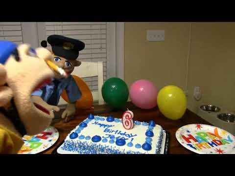 Sml detective Jeffy birthday party scene
