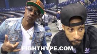 LOOSECANNON S.L.I.M. PUTS FLOYD MAYWEATHER ON NOTICE; WANTS BASKETBALL REMATCH & GETTING INTO BOXING