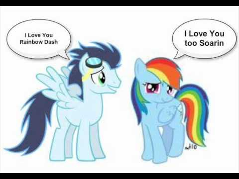 I Love You Rainbow Dash, I Love You Too Soarin - YouTube