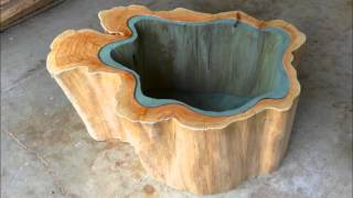 Wooden Nautilus Ii Table Design