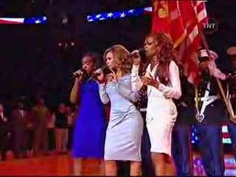 Destinys Child National Anthem