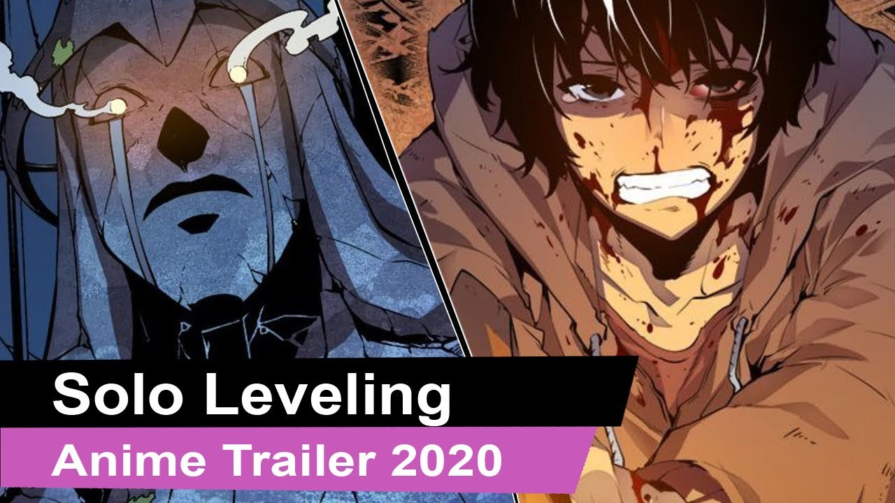 Solo Leveling Anime Official Trailer Youtube