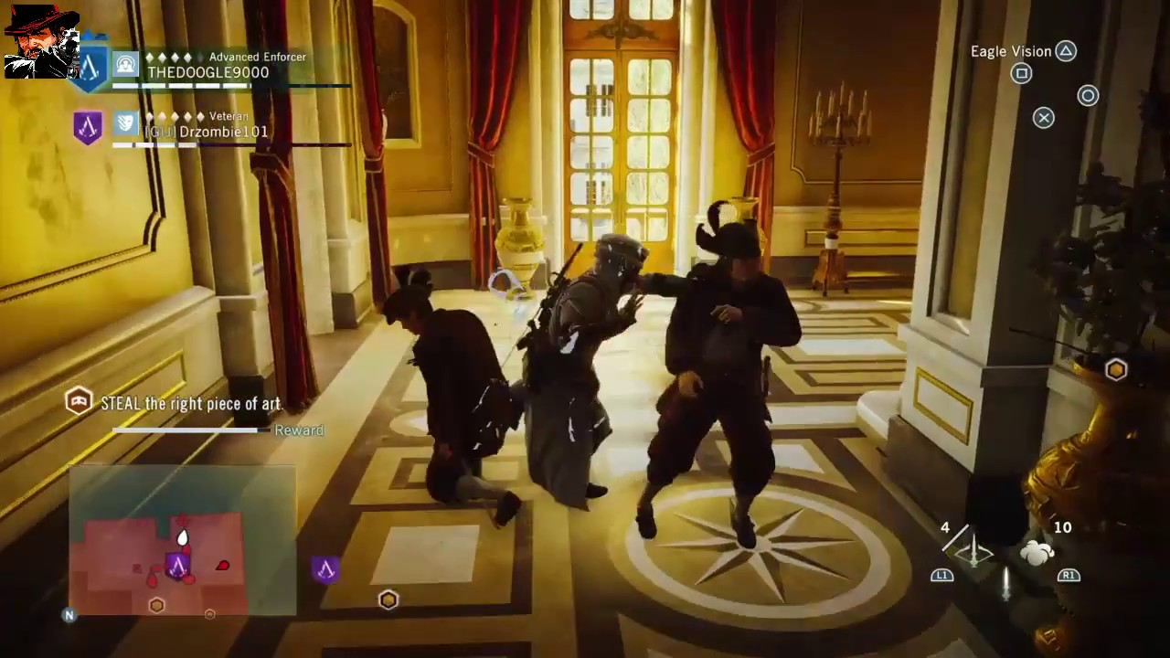 Assassin S Creed Unity Co Op Gameplay No Commentary Youtube