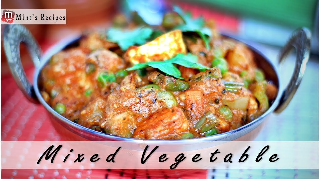 Mix vegetables recipe in hindi indian vegetarian recipes youtube forumfinder Image collections