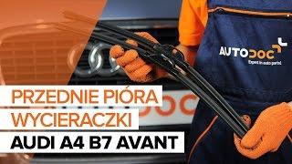 Jak wymienić przednie wycieraczki w AUDI A4 B7 AVANT TUTORIAL | AUTODOC