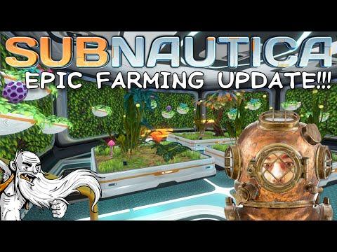 """WOO HOO FARMING UPDATE!!!"" Subnautica 1080p HD PC Gameplay Walkthrough"