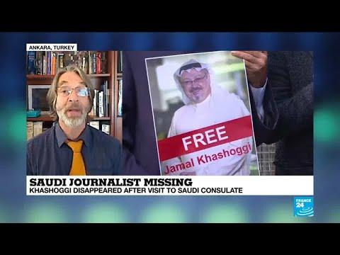 Saudi journalist missing: \