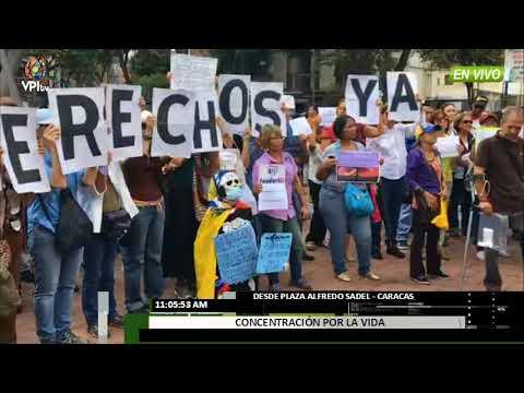 Venezuela- Codevida realiza protesta exigiendo apertura del canal humanitario -VPItv