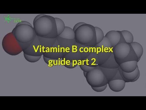 Vitamins B complex guide part 2.