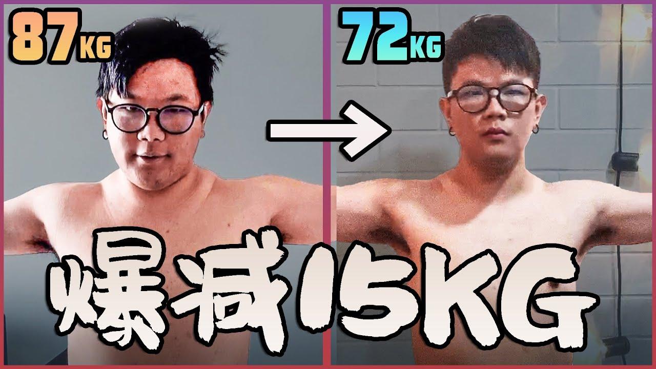 如何四十天減15KG | 無運動無挨餓の健康減肥大法