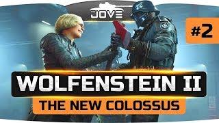Спасаем Америку от нацистов!  ● Wolfenstein II: The New Colossus #2