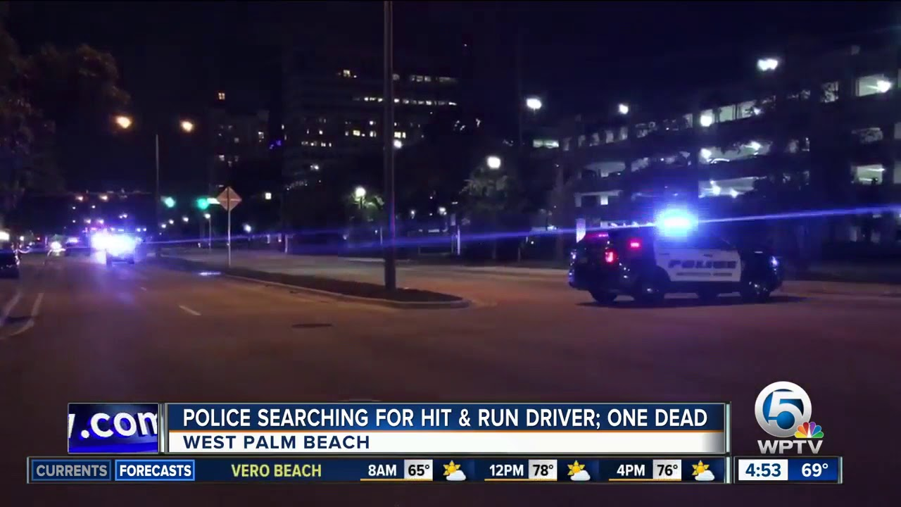Driver sought in fatal West Palm Beach hit-and run crash
