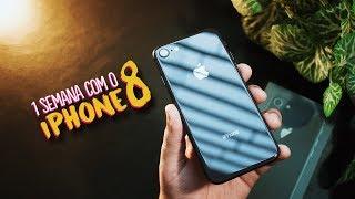 1 SEMANA COM O iPHONE 8 (opinião de usuário Android)