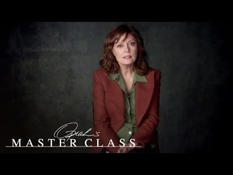 Susan Sarandon on an Unplanned Pregnency | Oprah's Master Class | Oprah Winfrey Network