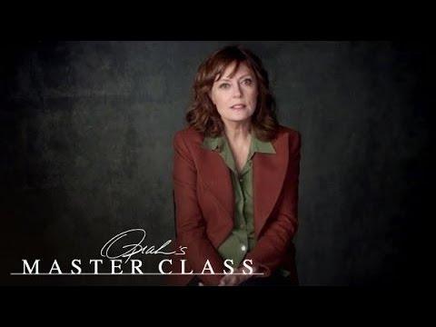 Susan Sarandon on an Unplanned Pregnency | Oprah's Master Class | Oprah Winfrey Network