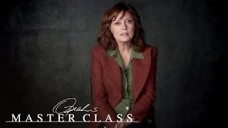 Susan Sarandon on an Unplanned Pregnency | Master Class | Oprah Winfrey Network